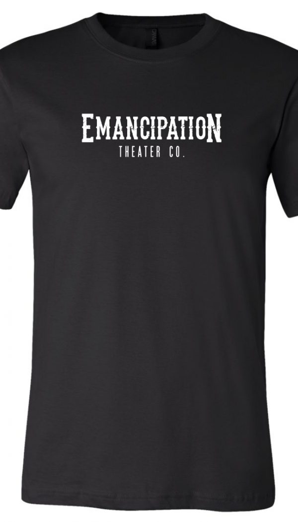 Emancipation Theatre Black T-Shirt