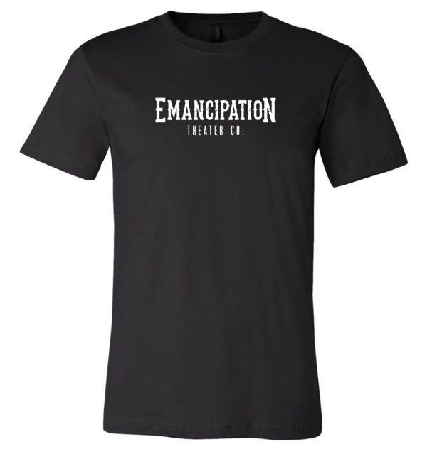 Emancipation Theatre Black T-Shirt