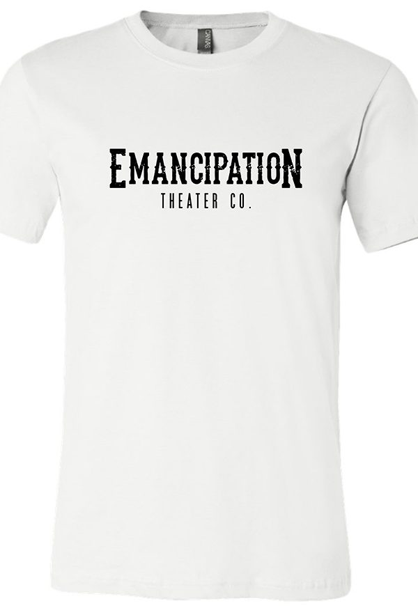 Emancipation Theatre White-T-Shirt