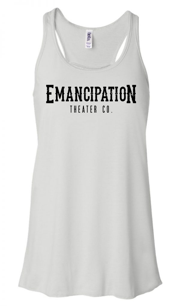 Emancipation Theatre White Tank Top