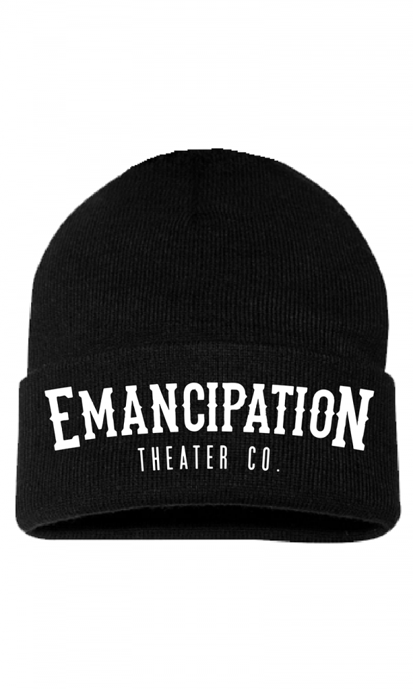 Emancipation Theater Co. Black Beenie