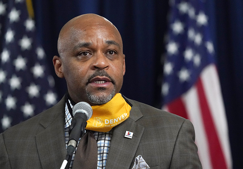 Denver Mayor Michael Hancock